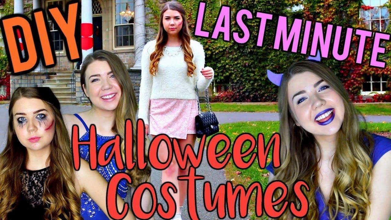 10 Perfect Homemade Halloween Costume Ideas For Teenage Girls 55 halloween costume ideas for teenage girl tbdress blog cute 2021