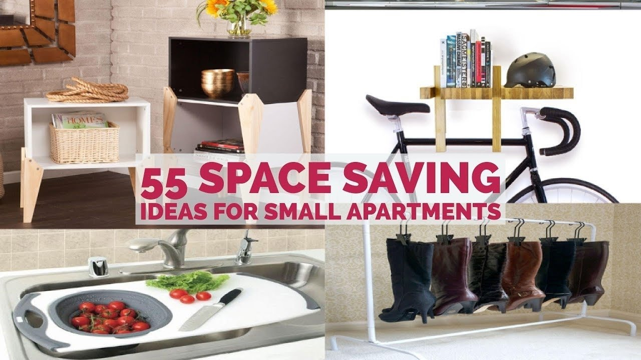 10 Most Popular Space Saving Ideas For Small Apartments 55 space saving ideas for small apartments youtube 2020