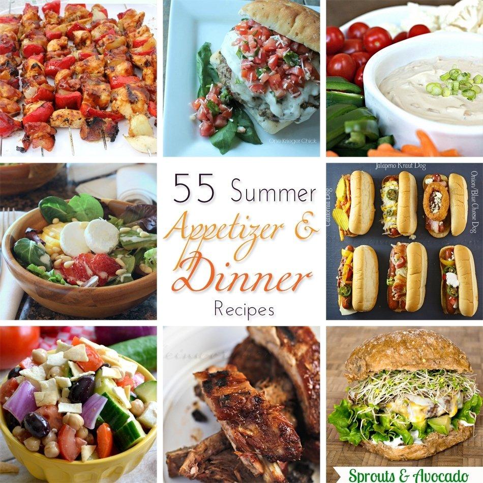 10 Stylish Summer Dinner Party Menu Ideas 55 summer dinner recipes kleinworth co 2021
