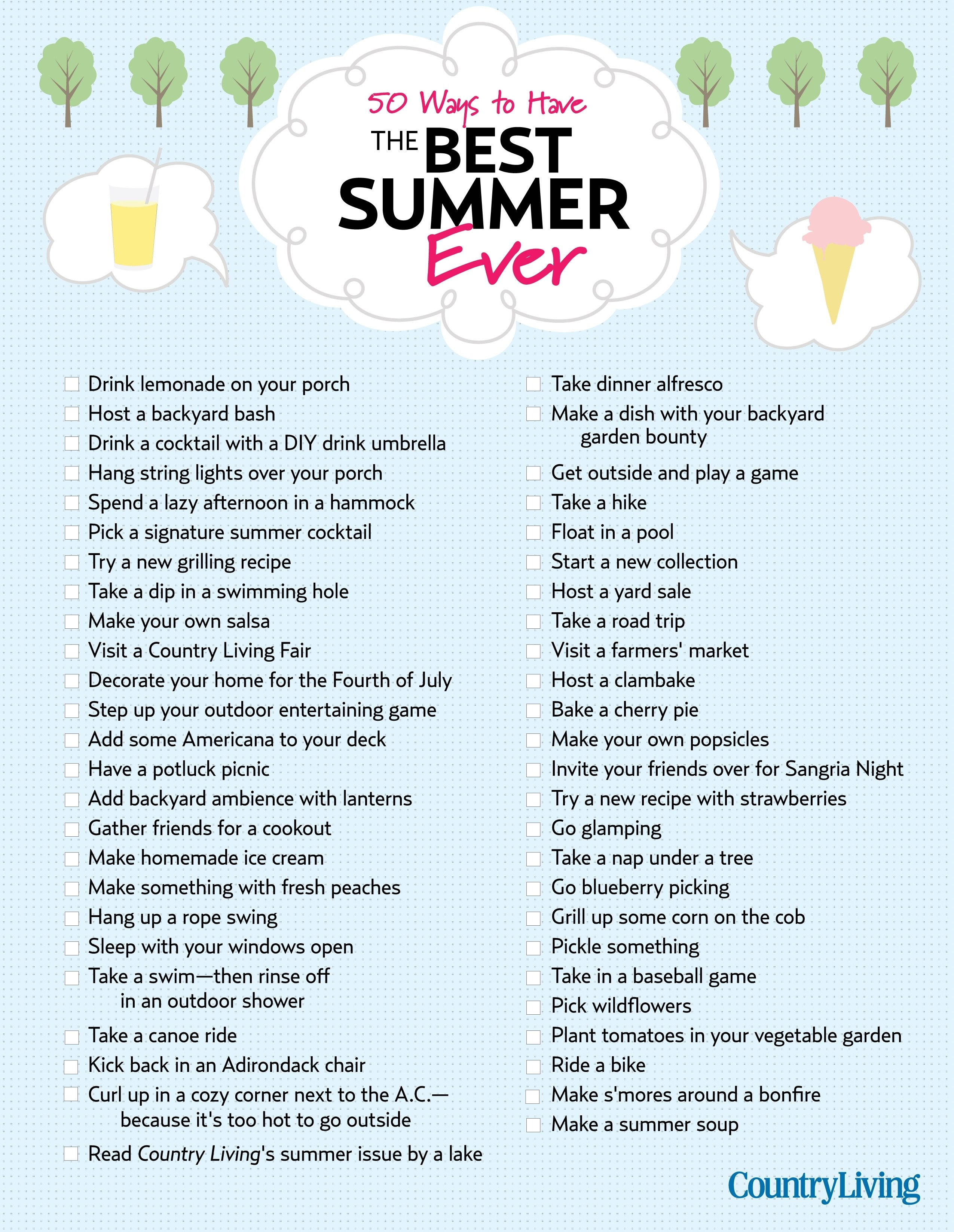 10 Fashionable Fun Ideas To Do With Friends 55 ways to have the best summer ever summer bucket lists fun