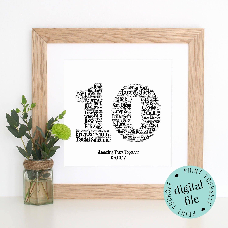 10 Cute 10 Year Wedding Anniversary Ideas 55 year wedding anniversary gift ideas new 10th anniversary gift 2020