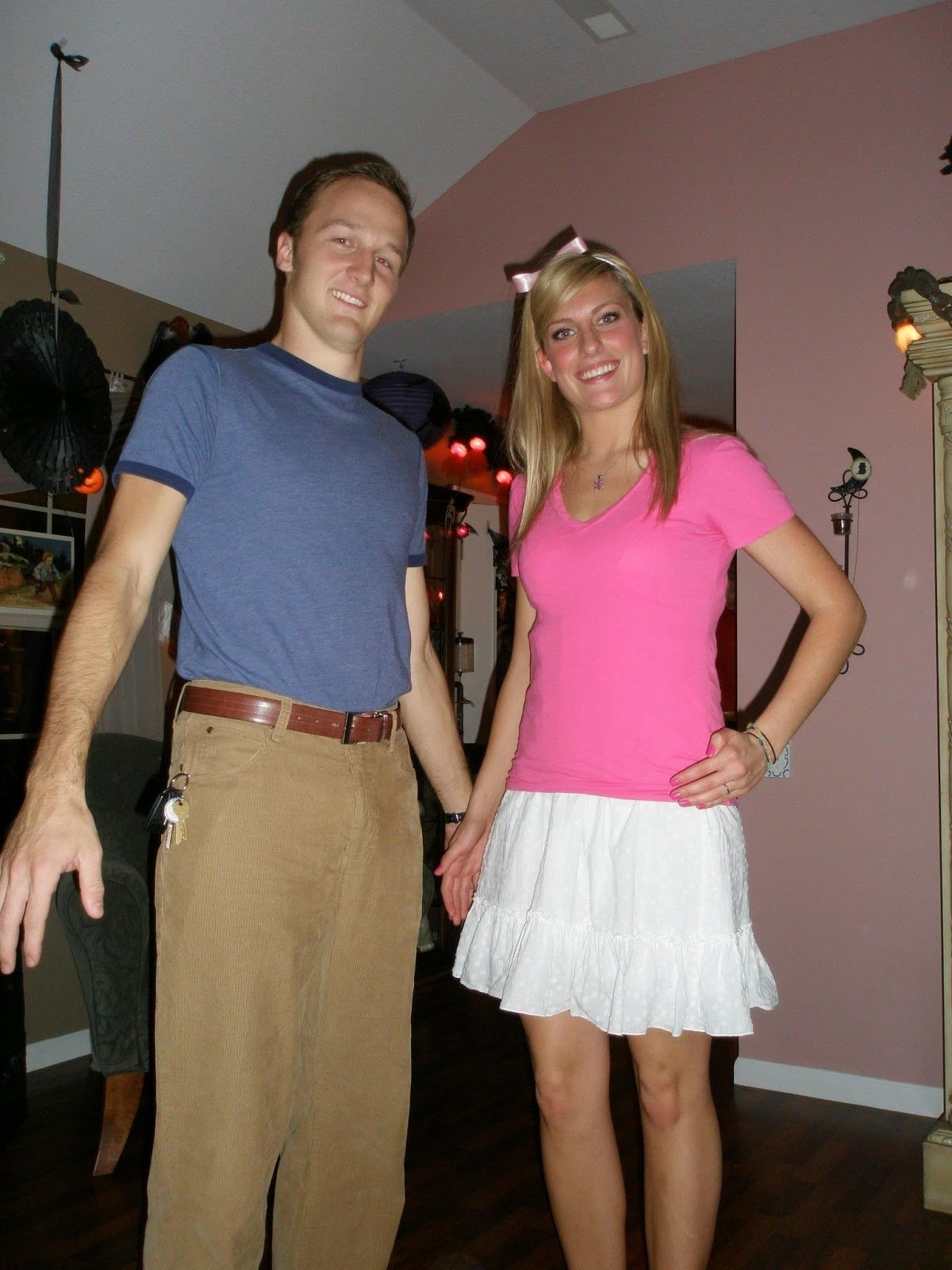 10 Most Recommended Homemade Halloween Costume Ideas For Couples 57 couples diy costumes top 10 tuesdays funny costumes halloween 5 2020
