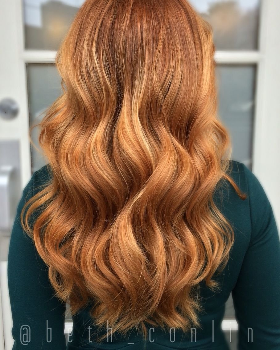 57 hottest red balayage hair color ideas 2017 | red balayage hair