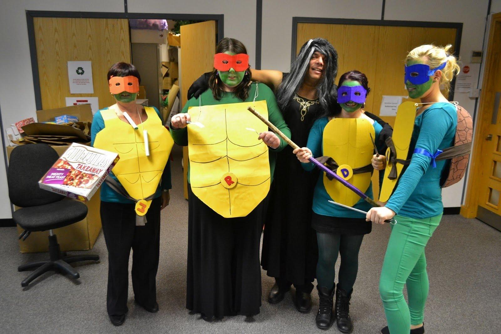 10 Unique Teenage Mutant Ninja Turtles Costume Ideas 59 homemade diy teenage mutant ninja turtle costumes 2021