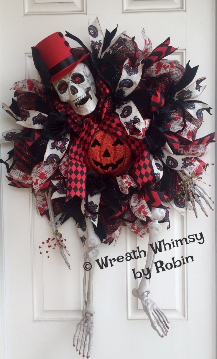 10 Most Recommended Deco Mesh Halloween Wreath Ideas 599 best halloween deco mesh wreaths images on pinterest halloween 2021