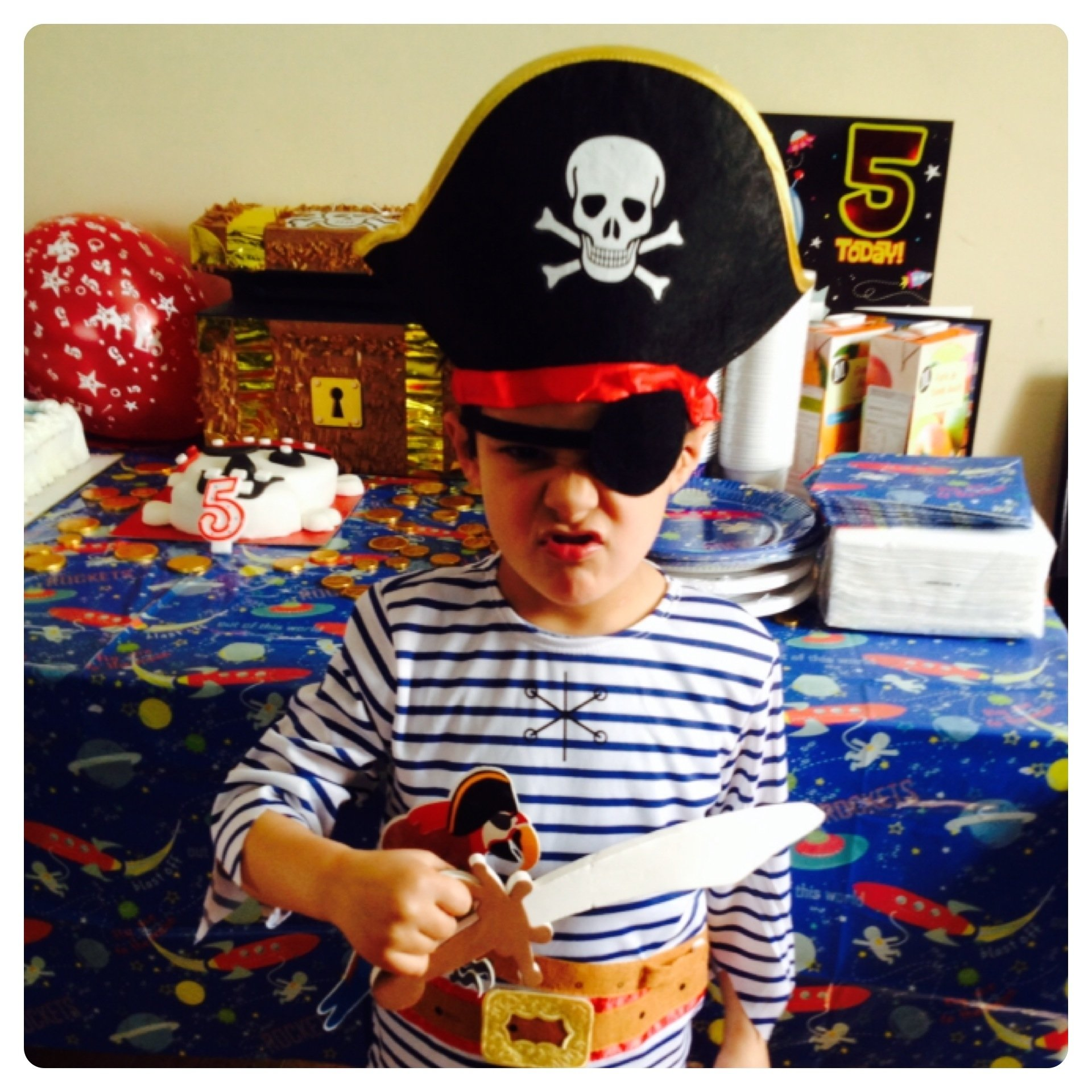 10 Amazing 5Th Birthday Party Ideas For Boys 5th birthday party ideas boys pirate party decorations and 1 2020