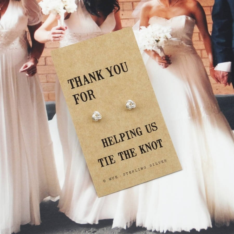 Attractive Wedding Thank You Gift For Parents Mold Wedding Dress