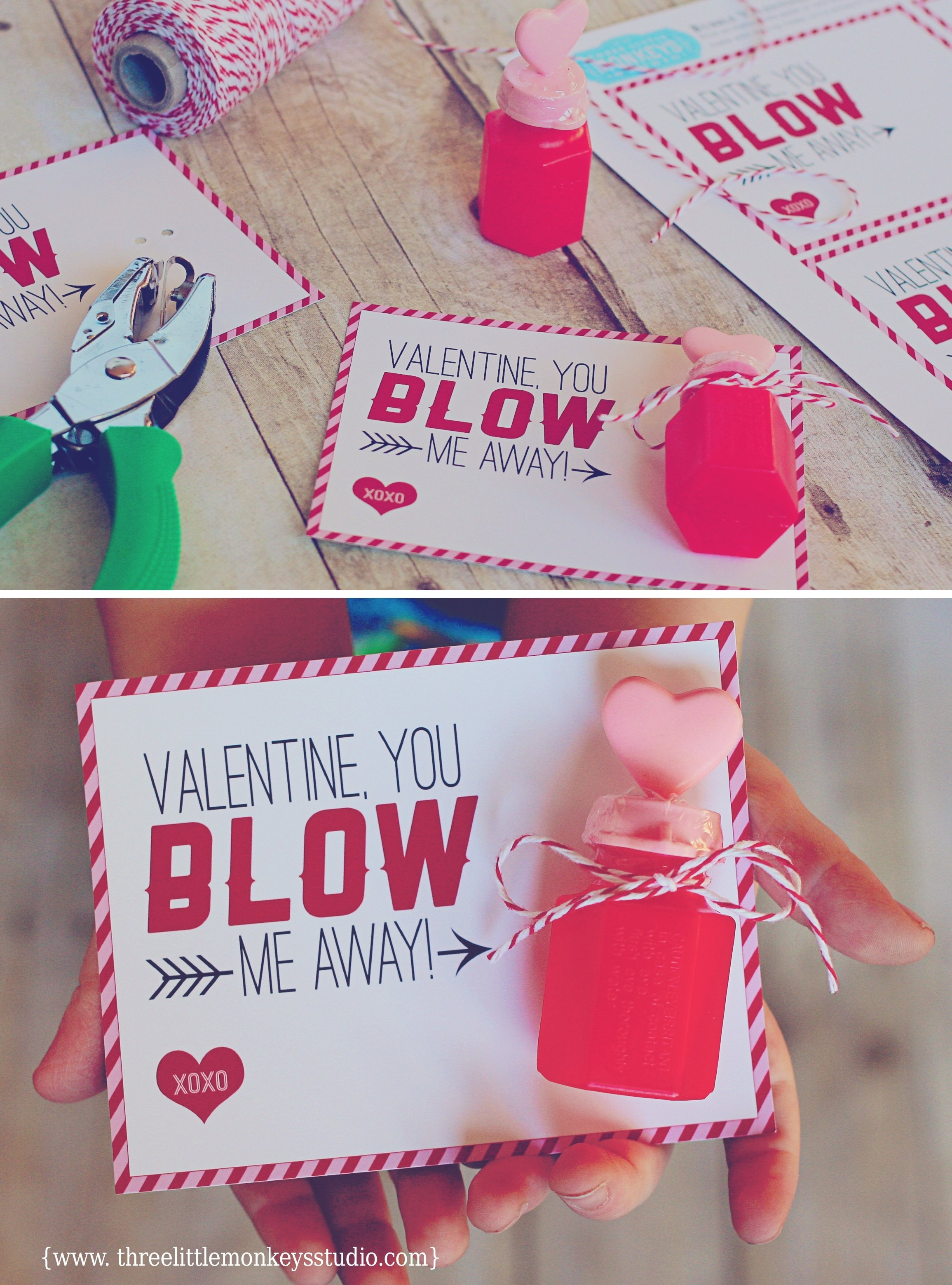 10 Attractive Cute Valentines Day Ideas For Kids 6 candy free valentine ideas for kids three little monkeys studio 2020