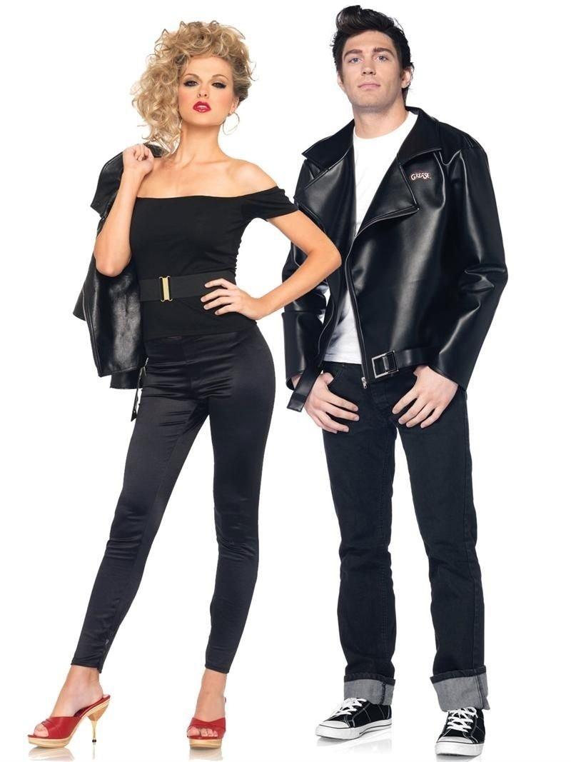 10 Stylish Cute Couples Halloween Costume Ideas 6 cute halloween costumes for couples sandy grease costume sandy 1 2021