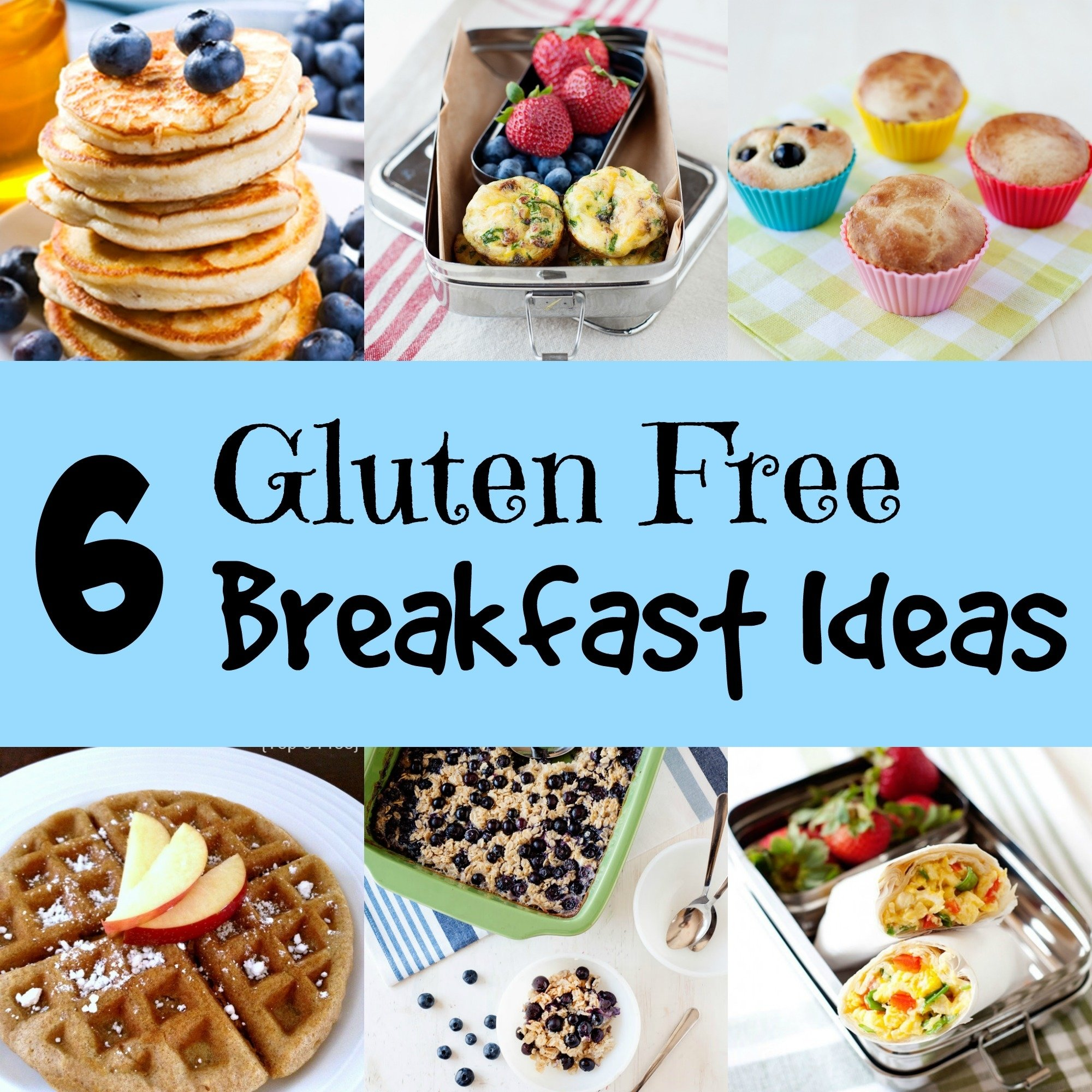 6 gluten free breakfast ideas - momables