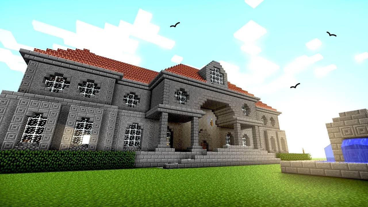 10 Wonderful Cool House Ideas For Minecraft 6 great house designs ideas minecraft youtube 2020