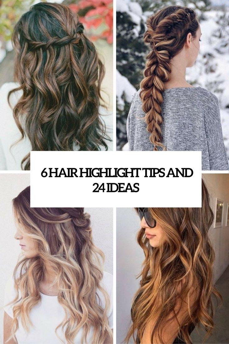 10 Stunning Hair Highlight Ideas For Brown Hair 6 hair highlight tips and 24 trendiest ideas styleoholic