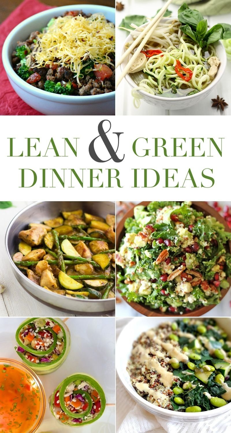 6 lean and green dinner ideas for the #medifast 5 and 1 program