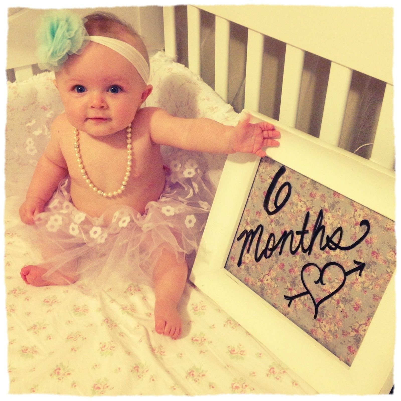 10 Fabulous 6 Month Baby Picture Ideas 6 month baby girl photo shoot ideas google search baby 1