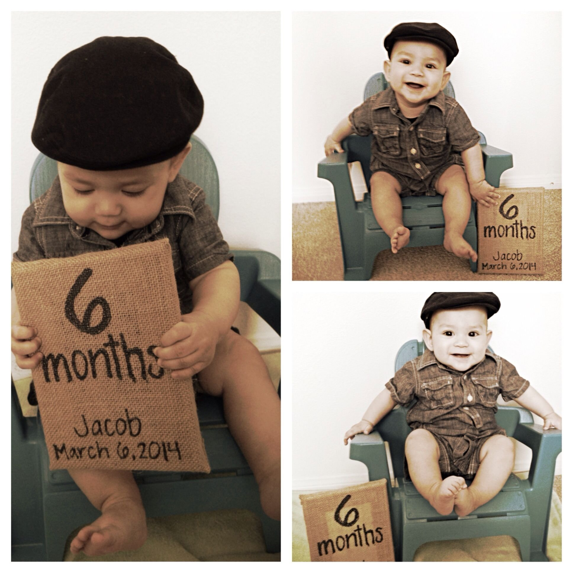 10 Fashionable 6 Month Boy Photo Ideas 6 month baby picture ideas kids pinterest baby pictures 2020