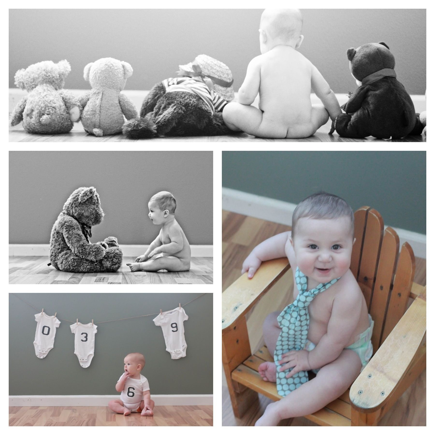 10 Fabulous 6 Month Baby Picture Ideas