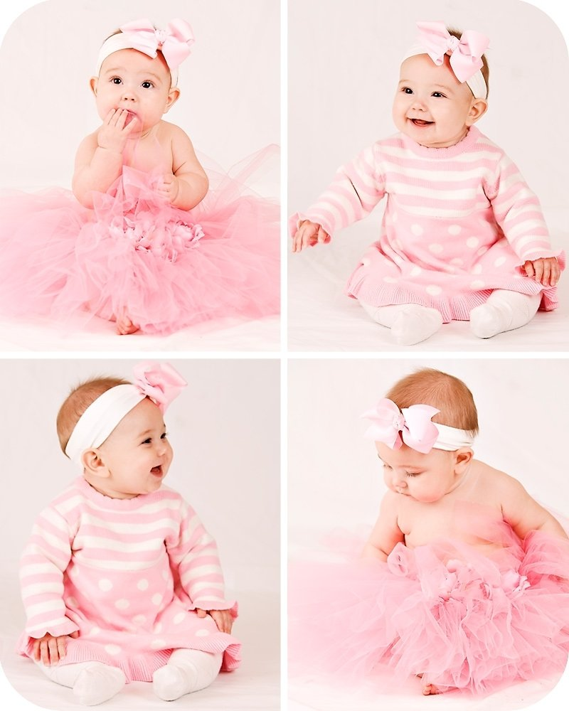 6 month baby picture ideas |  sarah photography » emme. 6 months