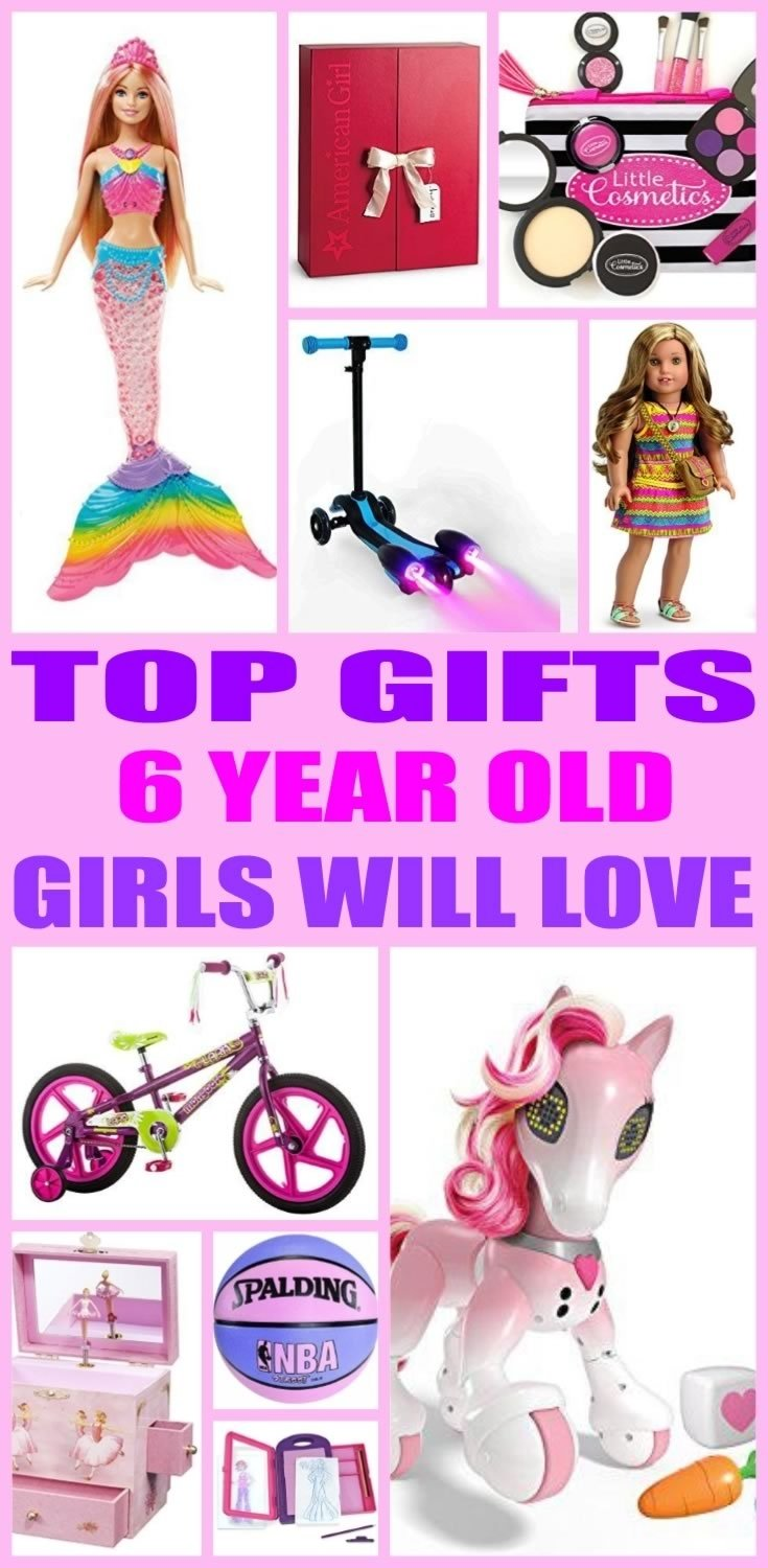 10 Fashionable 6 Year Old Gift Ideas