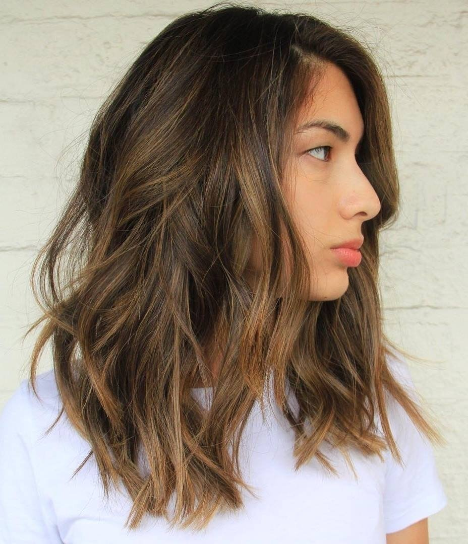 10 Lovely Brunette Hair Color Ideas 2013 60 balayage hair color ideas with blonde brown caramel and red 6 2021