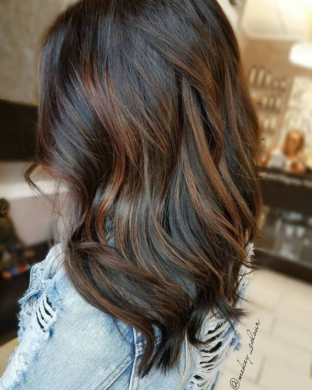 10 Awesome Hair Color Ideas For Brunettes With Highlights 60 chocolate brown hair color ideas for brunettes auburn