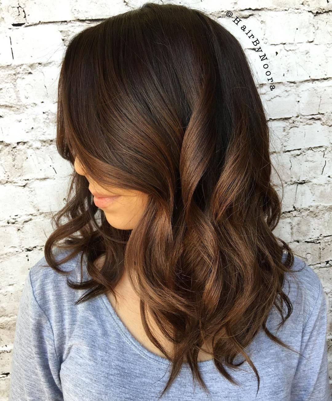 60 chocolate brown hair color ideas for brunettes | brunette ombre
