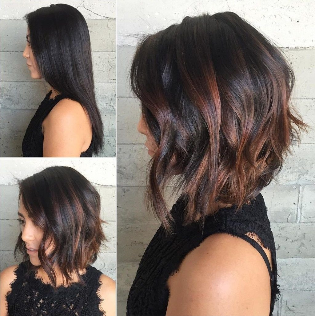 10 Stunning Hair Color Ideas For Bob Hairstyles 60 chocolate brown hair color ideas for brunettes copper balayage 2020