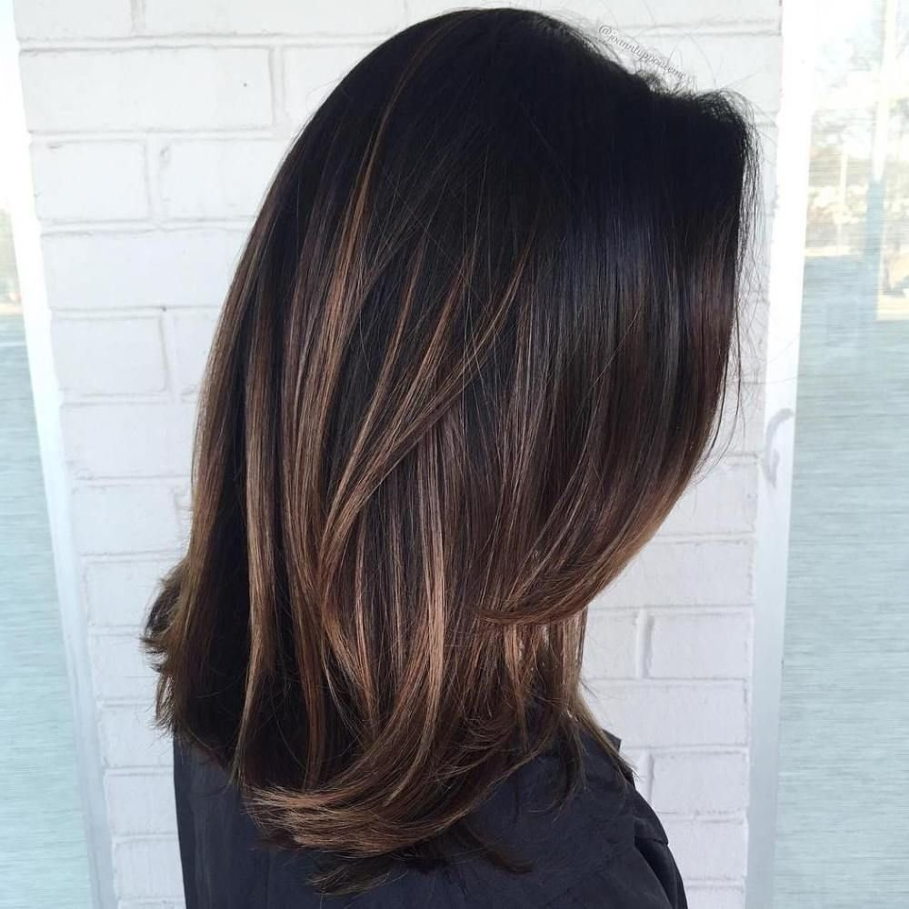 10 Beautiful Hair Highlight Ideas For Dark Brown Hair