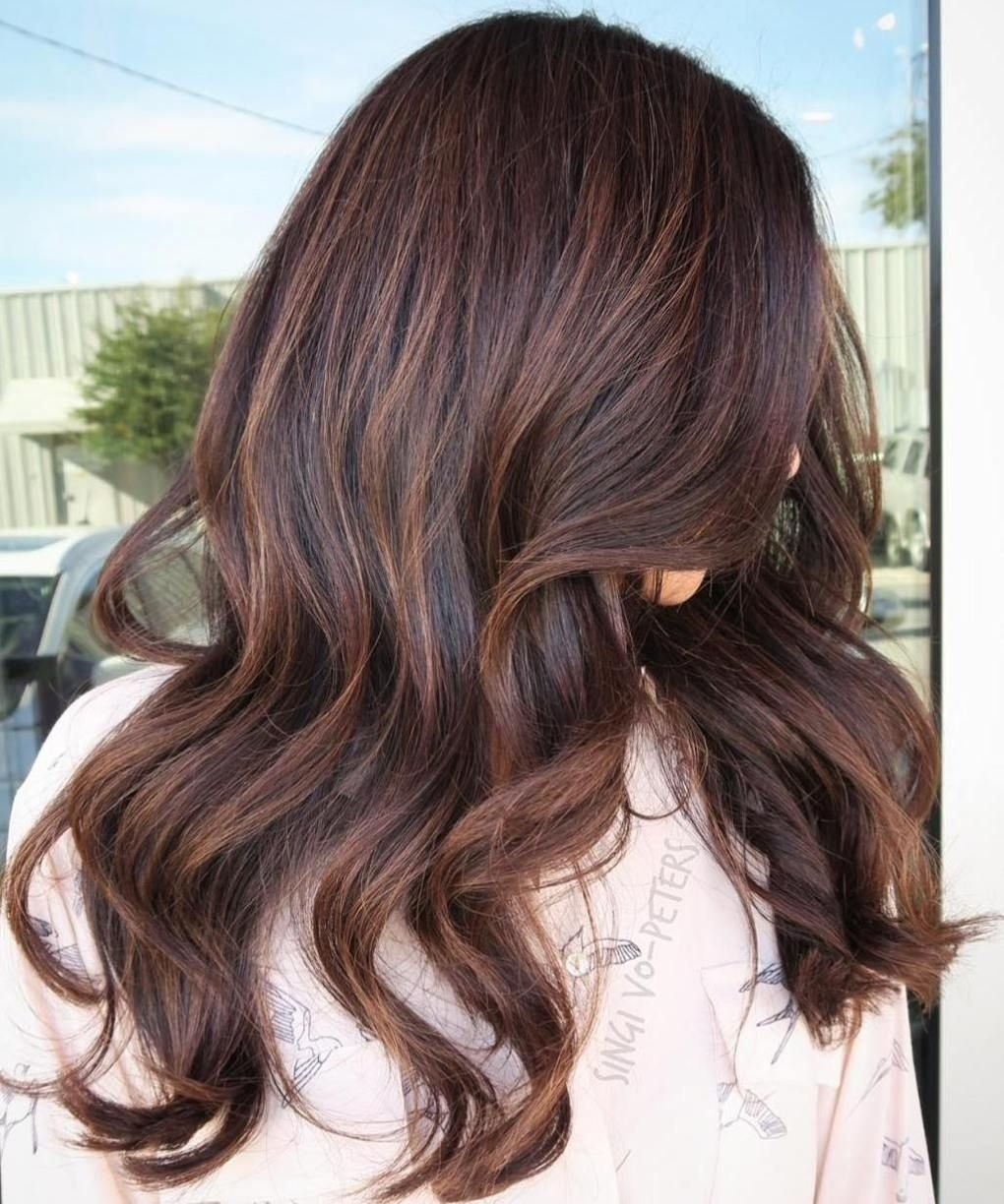 10 Awesome Hair Color Ideas For Brunettes With Highlights 60 chocolate brown hair color ideas for brunettes subtle 1