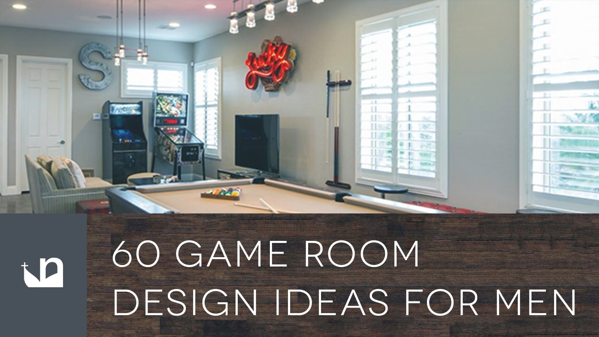 10 Perfect Game Room Ideas For Men 60 game room design ideas for men youtube 2020