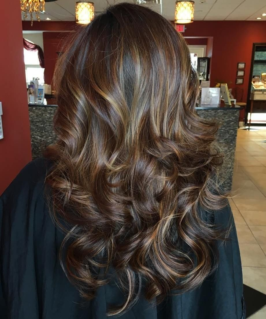 10 Stunning Hair Highlight Ideas For Brown Hair 60 looks with caramel highlights on brown and dark brown hair 2020