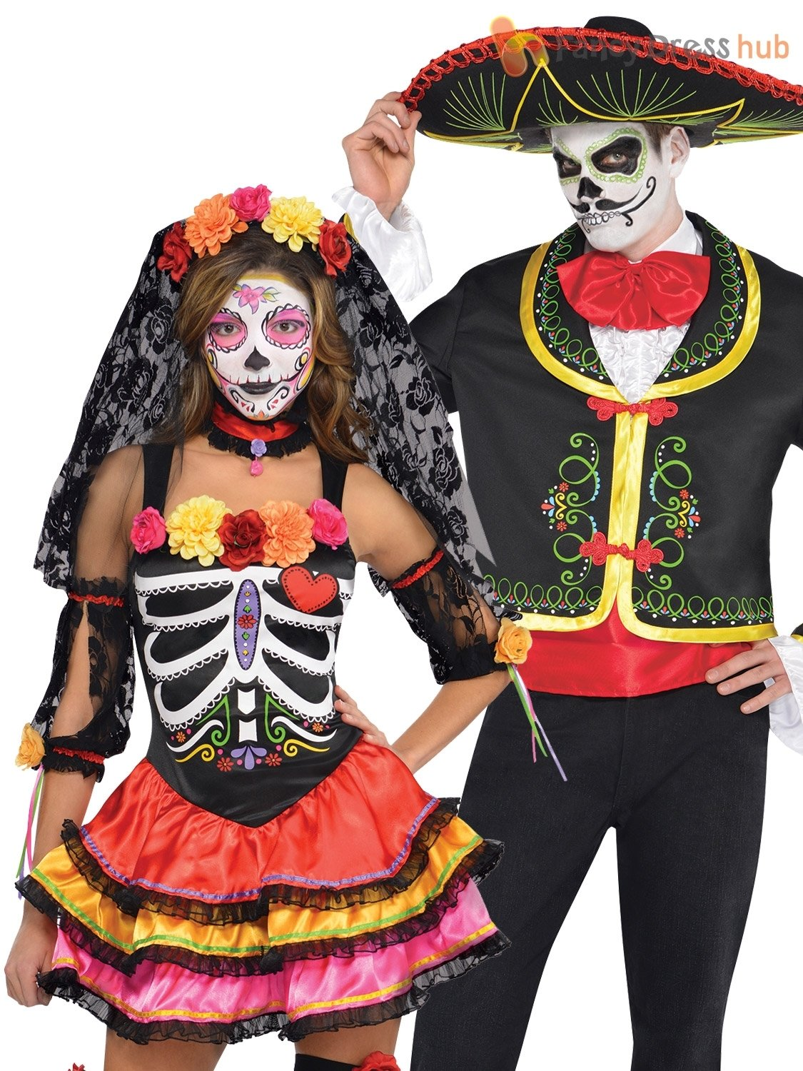10 pretty day of the dead outfit ideas