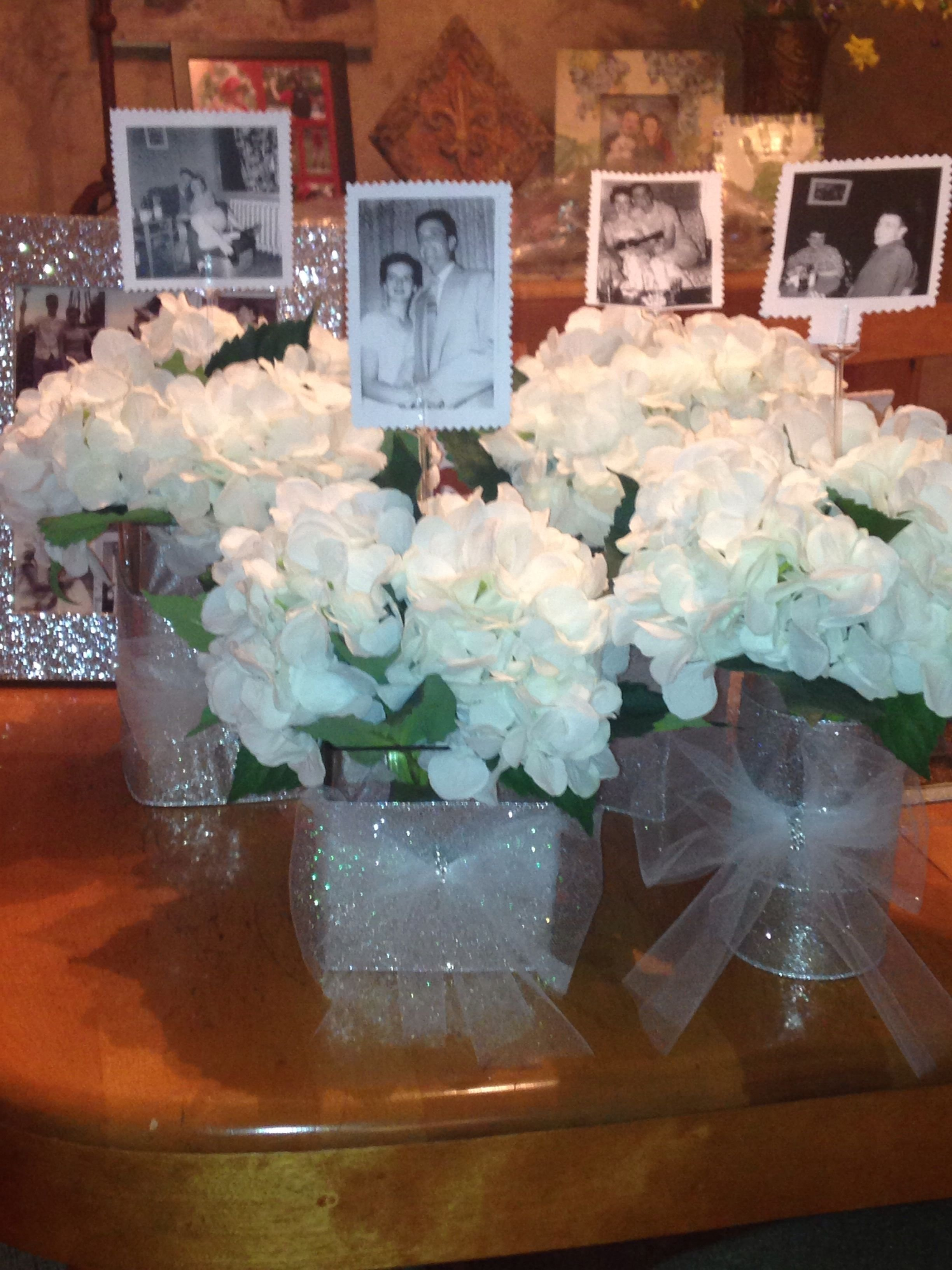 10 Great 60Th Wedding Anniversary Party Ideas 60th anniversary party idea for table centerpiece put a picture of 2020