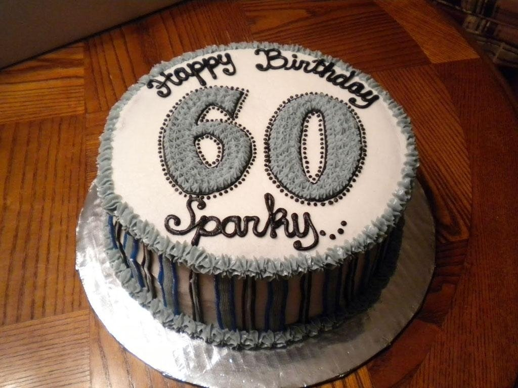 10 Spectacular 60Th Birthday Cake Ideas For Men 60th
