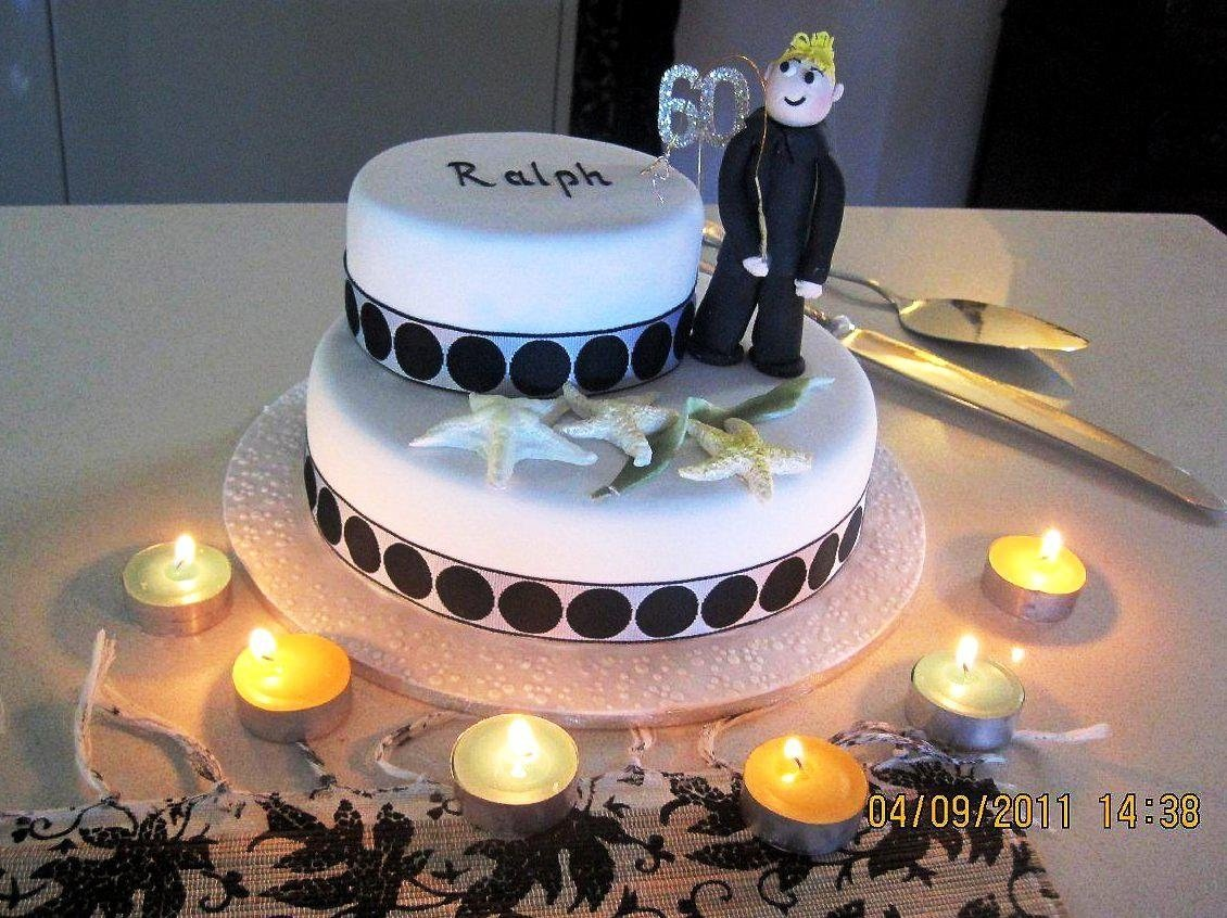 10 Spectacular 60Th Birthday Cake Ideas For Men 60th Cakes Protoblogr Design