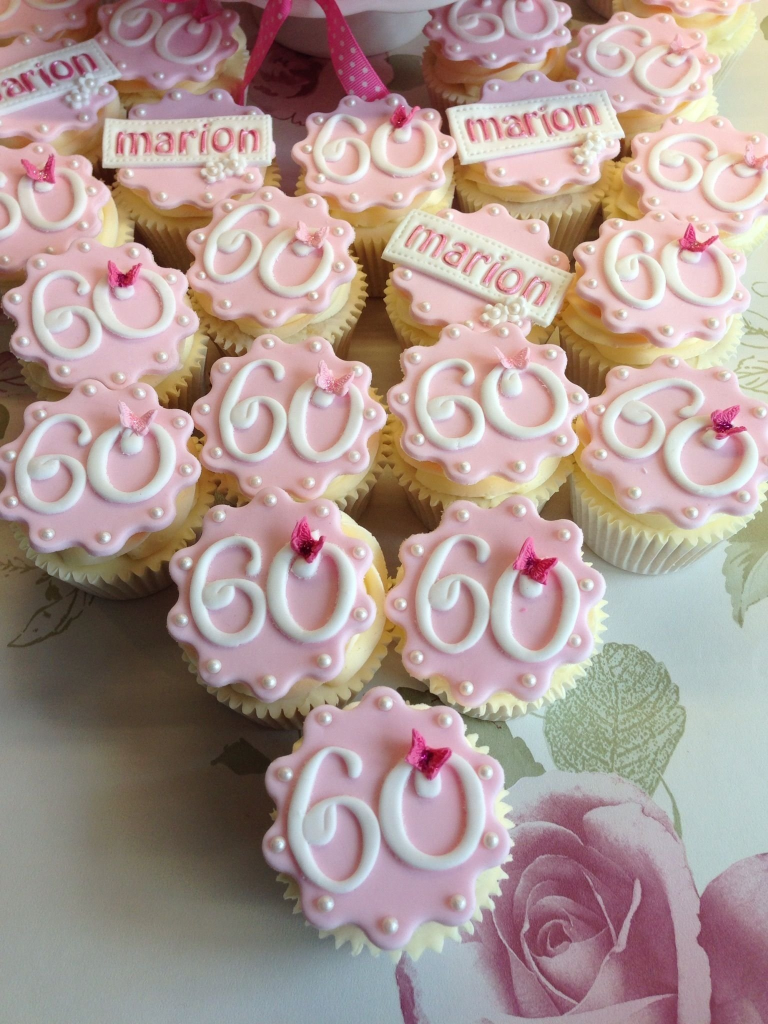 10 Perfect 60 Year Old Birthday Ideas 60th birthday cupcakes robs moms 60th pinterest 60th 1 2020