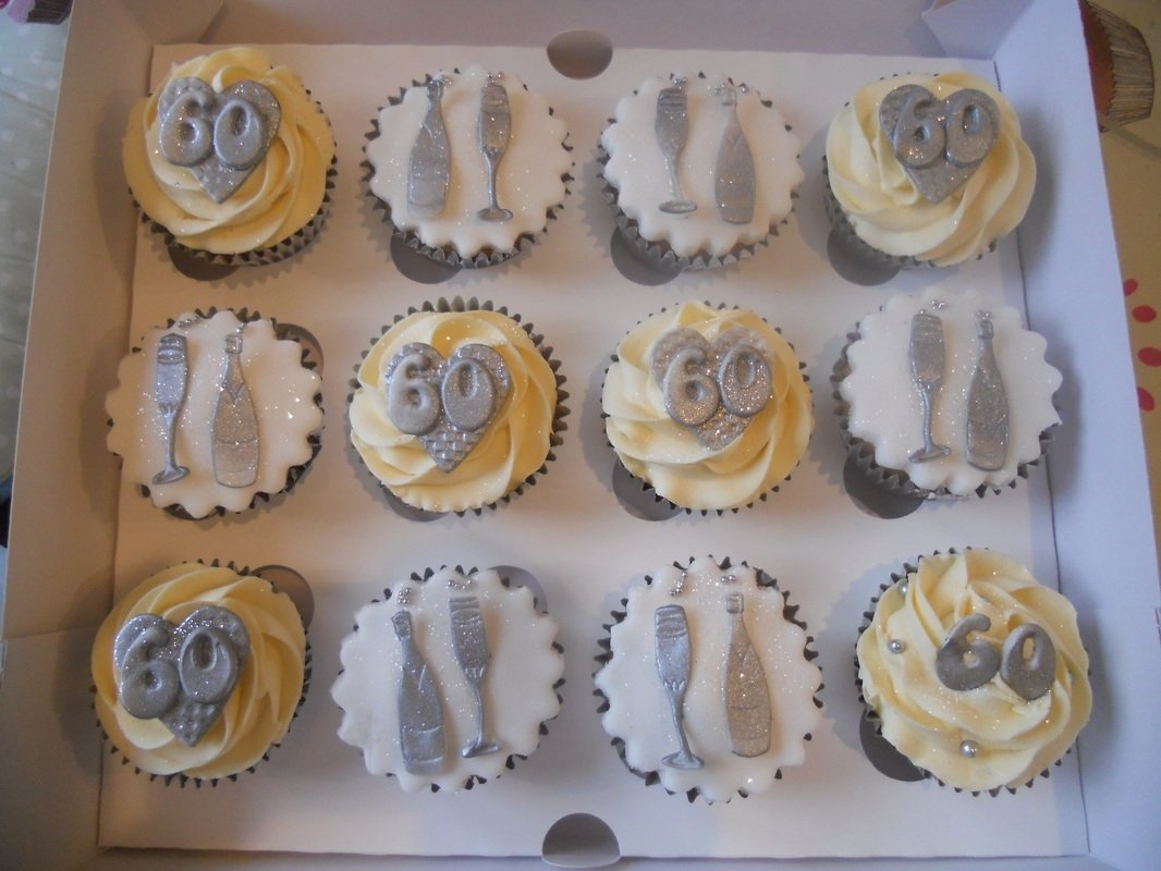 10 Spectacular 60Th Birthday Cake Ideas For Men 60th Cupcakes Tracys T Cakes