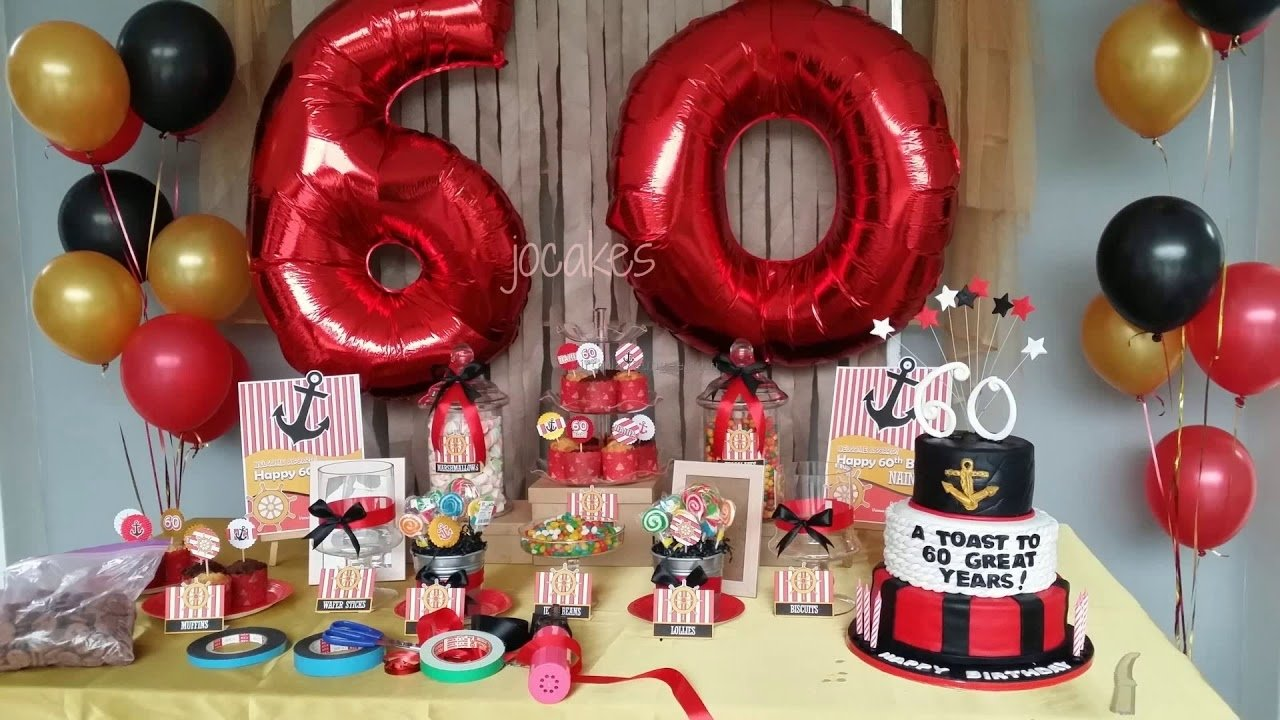 10 Wonderful 60Th Birthday Ideas For Mom 60th Party And Dad Youtube