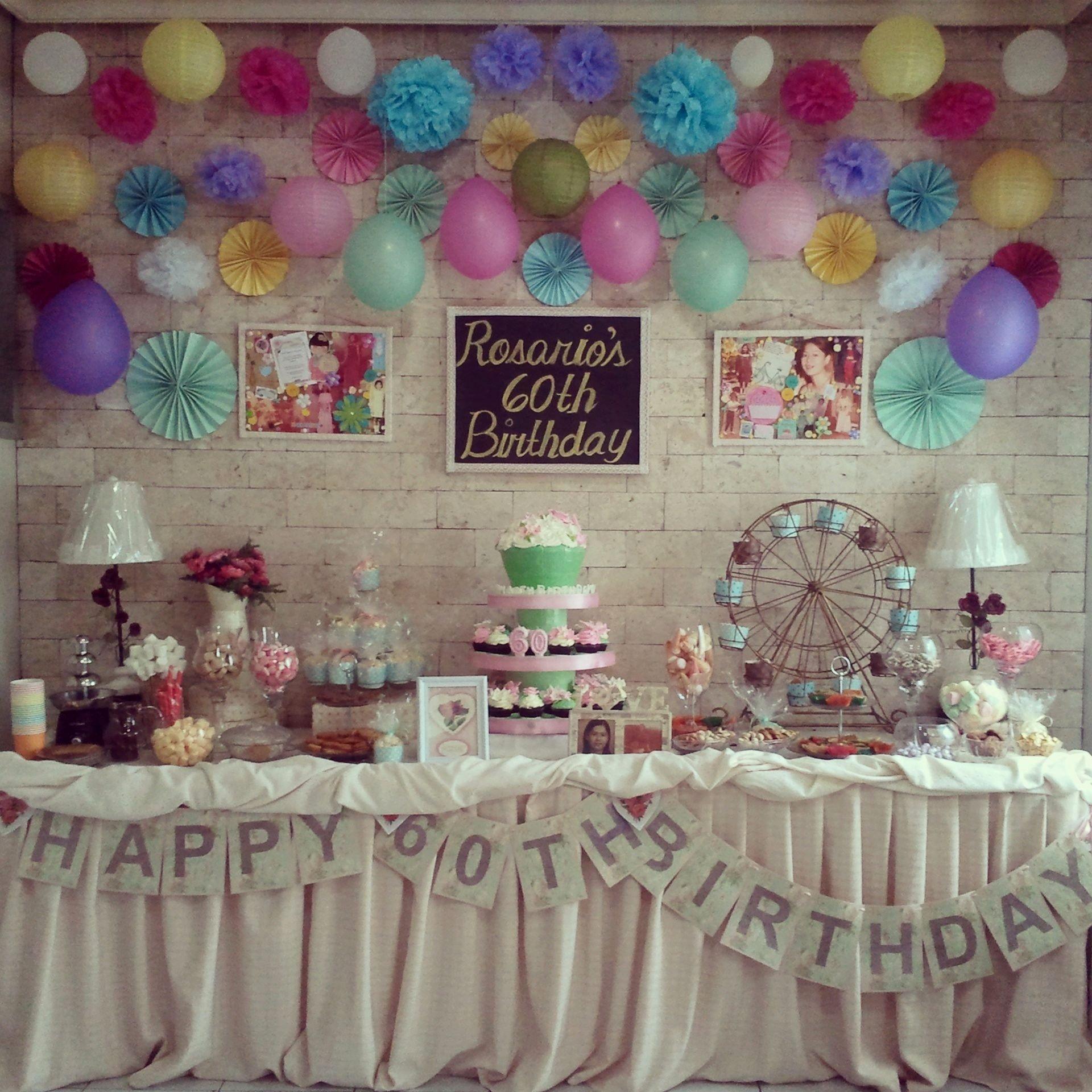 10 Fantastic 60 Birthday Party Ideas For Mom 60th Plus