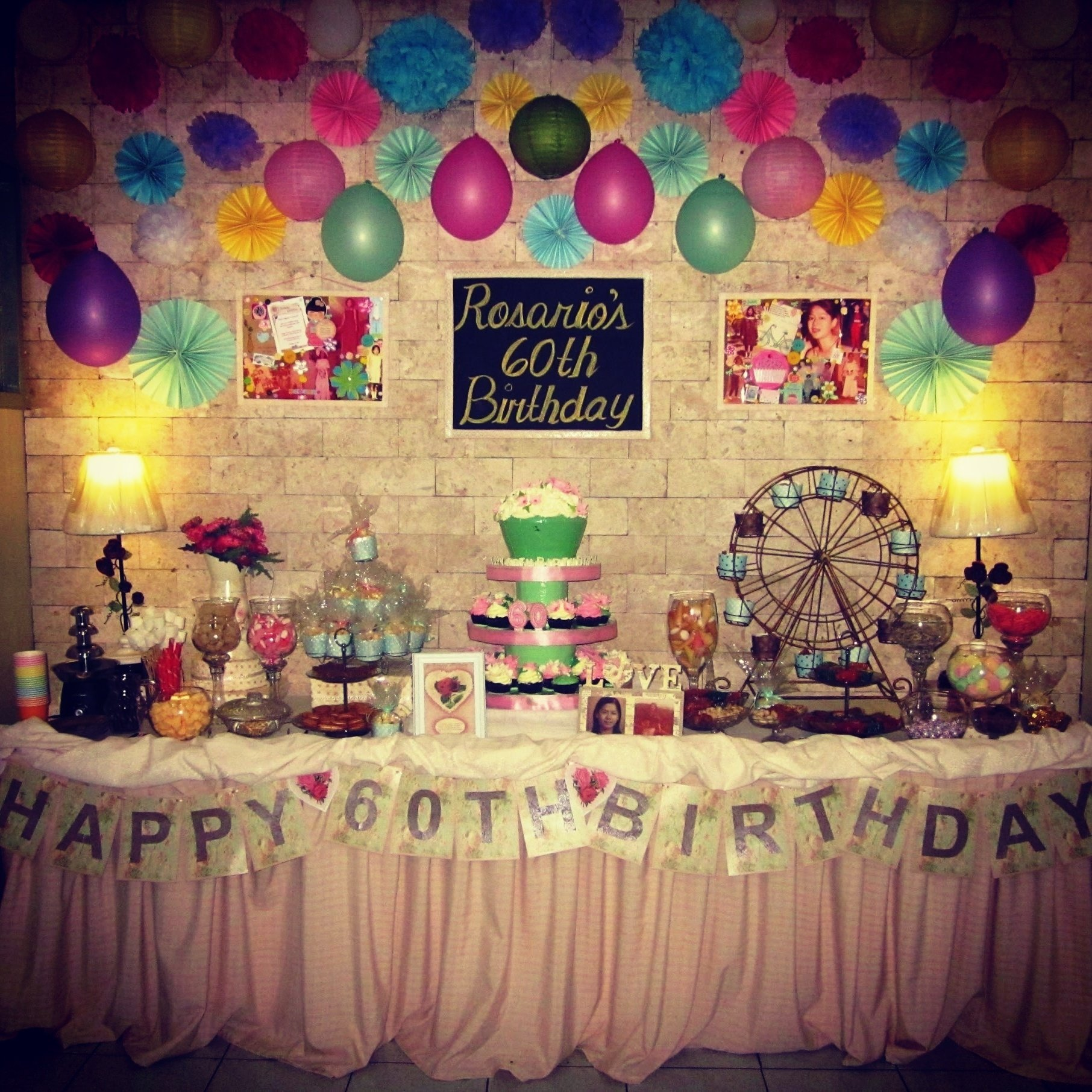 10 Fantastic 60 Birthday Party Ideas For Mom 60th Plus Sixtieth