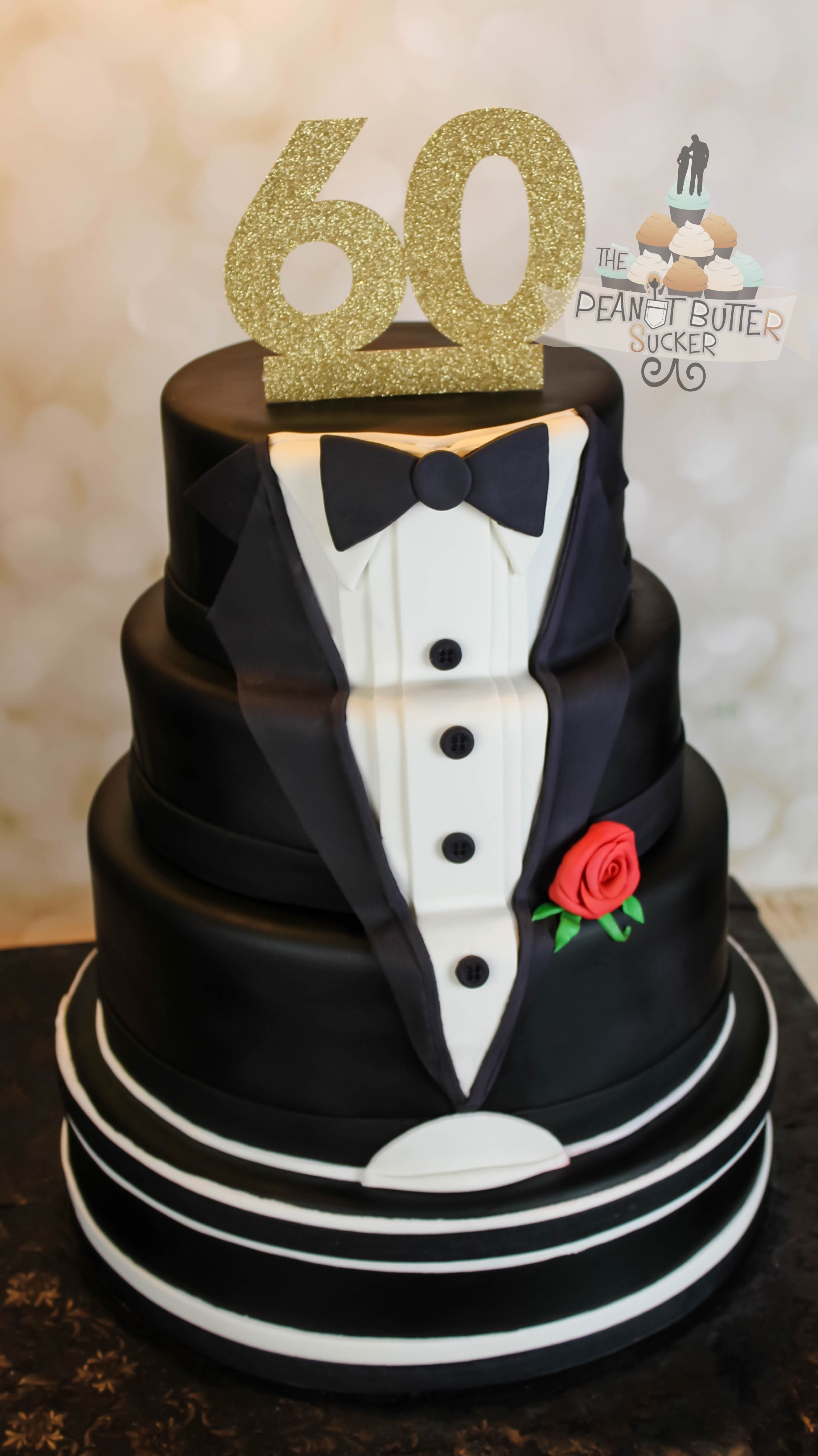 10 Trendy 60Th Birthday Party Ideas For Men 60th Tuxedo Cake Designs