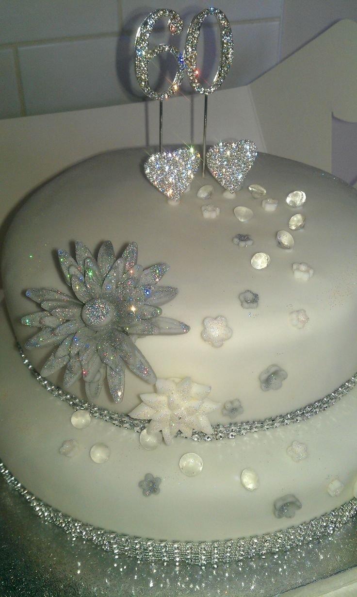 10 Fantastic Ideas For 60Th Wedding Anniversary 60th wedding anniversary cake decorations idea in 2017 bella wedding 2020