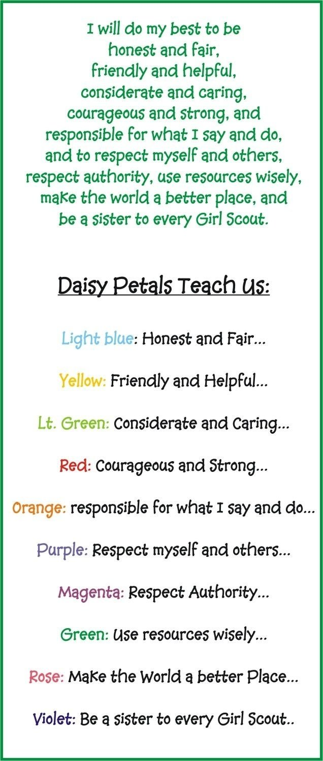 10 Attractive Considerate And Caring Daisy Petal Ideas 61 best girl scout daisies images on pinterest daisy girl scouts