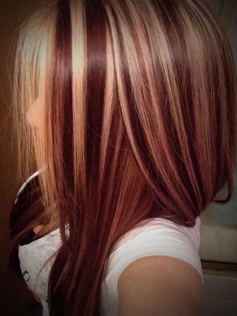 10 Great Red And Blonde Hair Color Ideas 61 dark auburn hair color hairstyles dark brown hair coloring and
