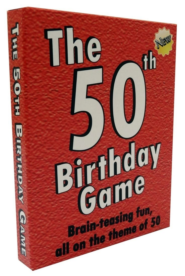 Birthday Gift For Man Turning 50 Great Idea Your