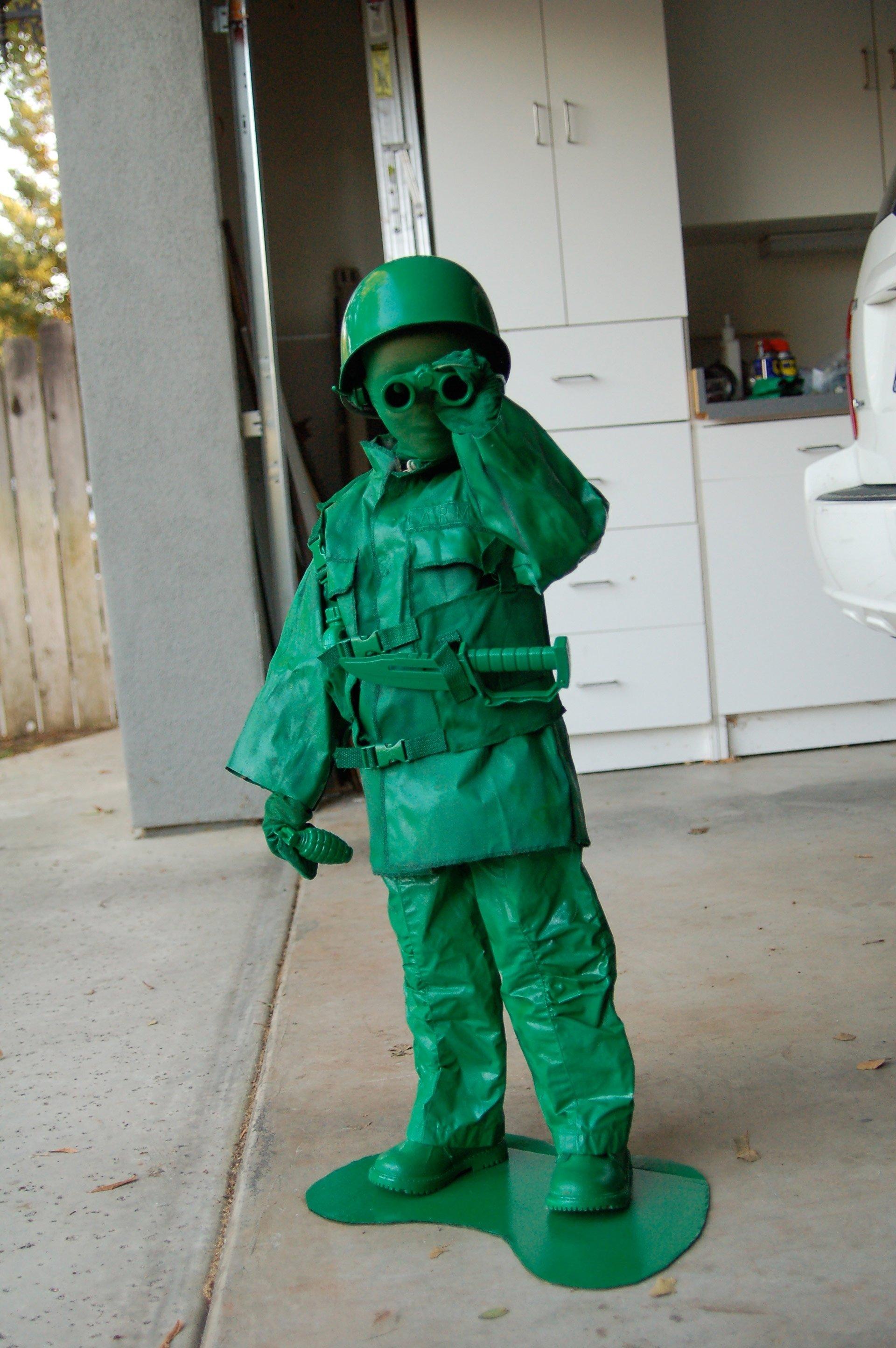 10 Awesome Boys Homemade Halloween Costume Ideas 62 utterly adorable homemade halloween costumes for kids army men 3