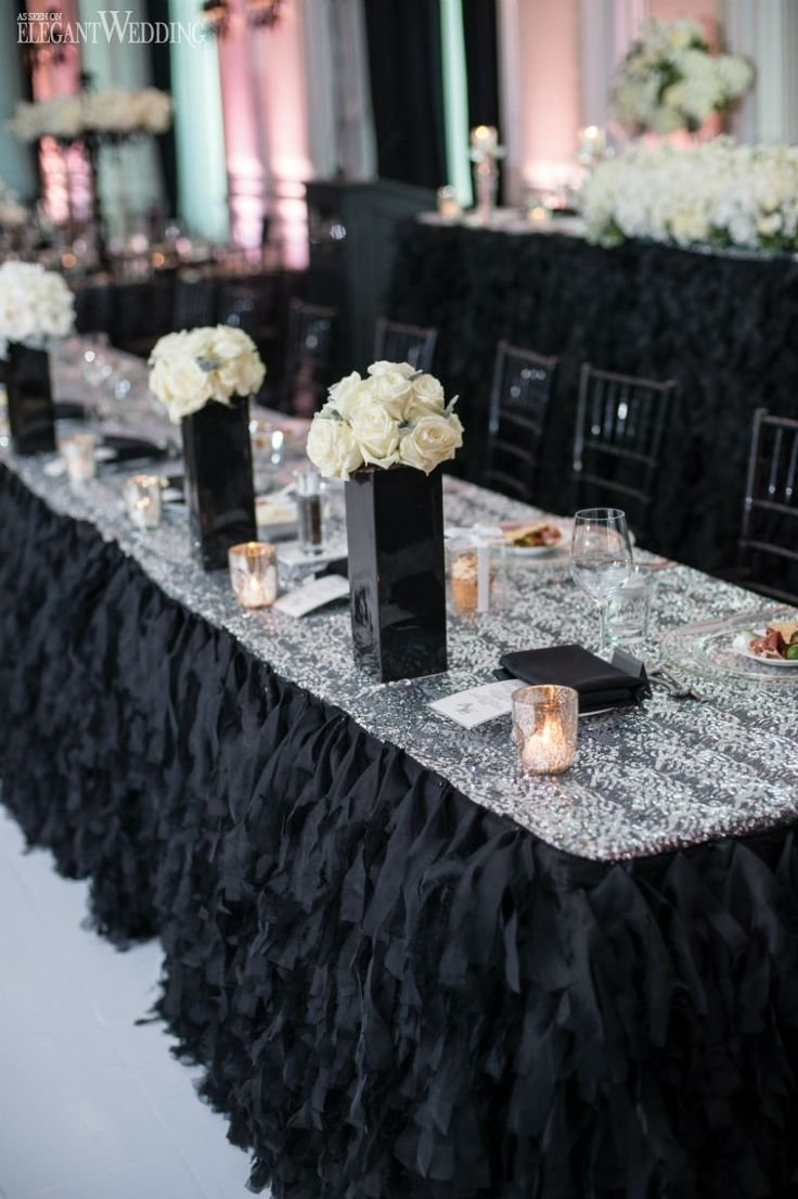 10 Trendy Black And Silver Wedding Ideas 63 best black white and silver wedding ideas images on pinterest 2020