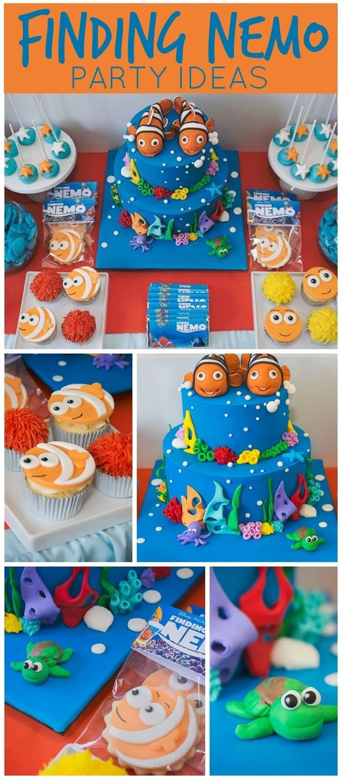 10 Most Popular Unique First Birthday Party Ideas For Boys 63 best finding dory finding nemo party ideas images on pinterest 1