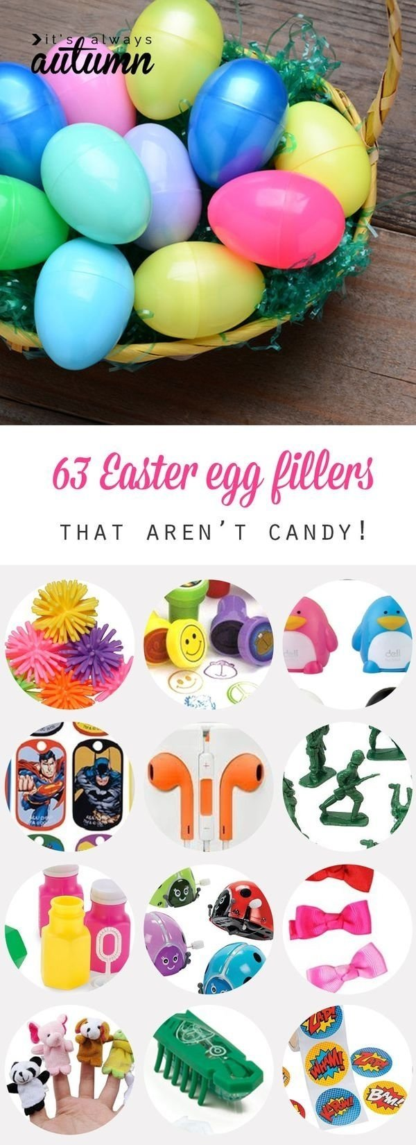 10 Ideal Ideas To Put In Easter Eggs 63 fantastic easter egg fillers things to put in easter eggs 2020