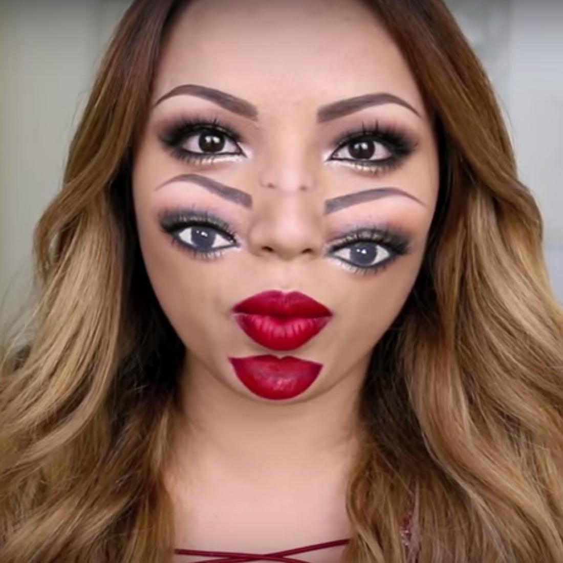 10 Fashionable Face Makeup Ideas For Halloween 64 halloween makeup ideas inspirationseek 2021