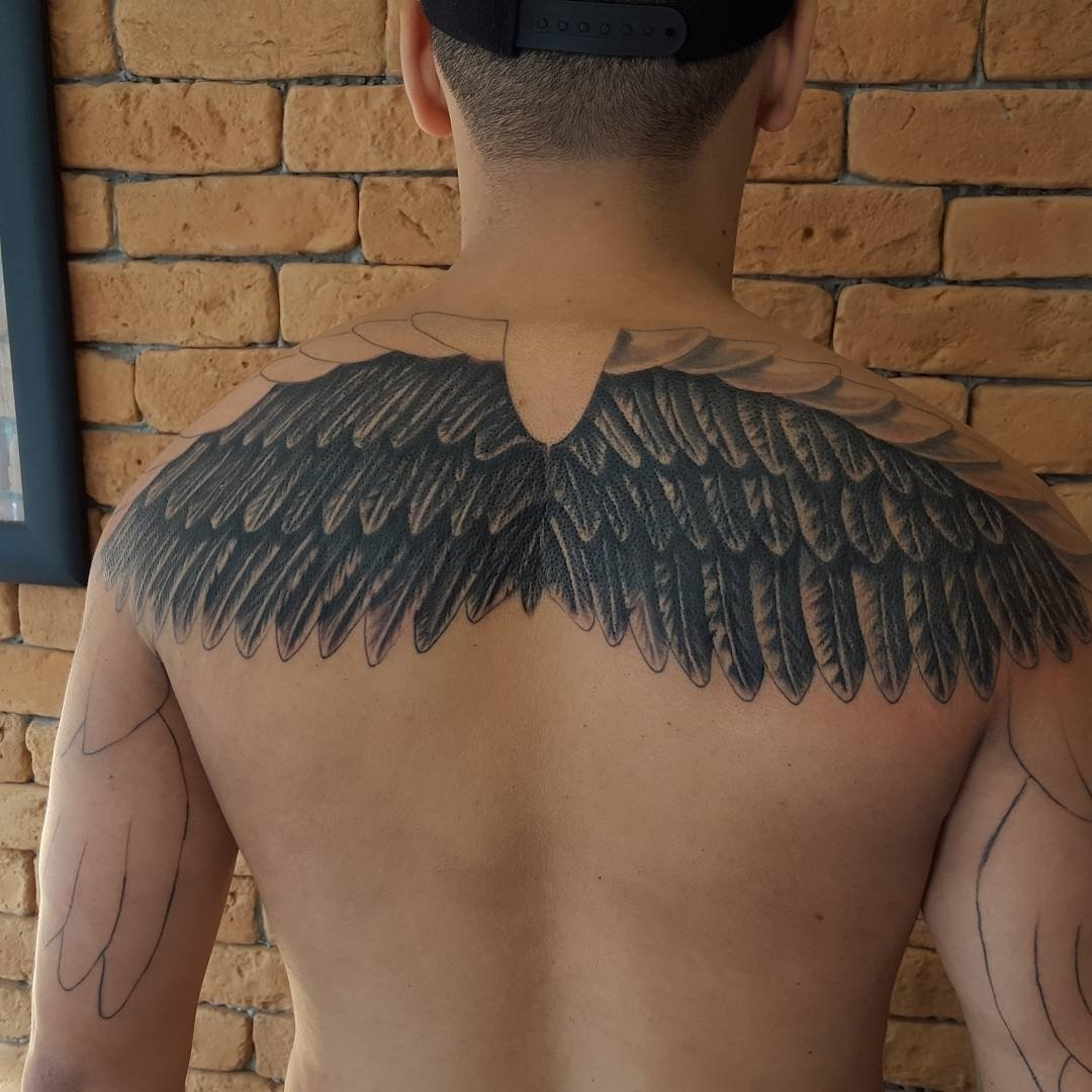 10 Perfect Unique Tattoo Ideas For Men 65 best angel wings tattoos designs meanings top ideas 2018 2020